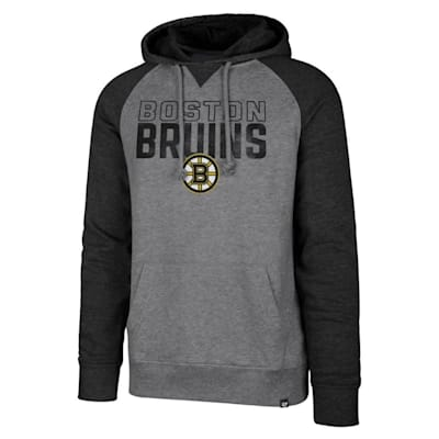 (47 Brand Boston Bruins Match Raglan Hoody - Adult)