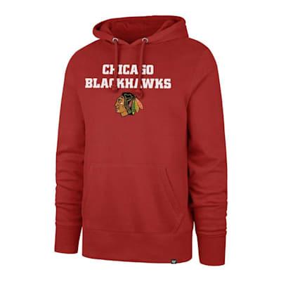 (47 Brand Pregame Headline Hoody Chicago Blackhawks - Adult)
