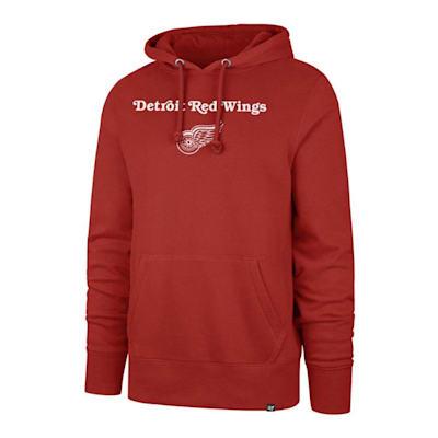 (47 Brand Detroit Red Wings Pregame Headline Hoody - Adult)
