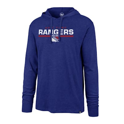 (47 Brand End Line Club Hoody New York Rangers - Adult)