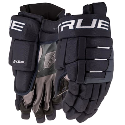 (TRUE A4.5 Hockey Gloves - Junior)