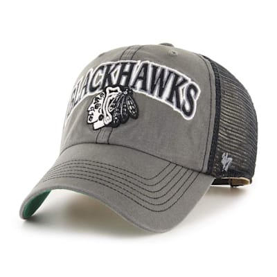 (47 Brand Chicago Blackhawks Charcoal Tuscaloosa Cap - Adult)