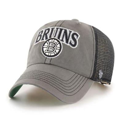 (47 Brand Boston Bruins Charcoal Tuscaloosa Cap - Adult)