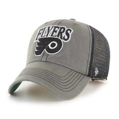 (47 Brand Philadelphia Flyers Charcoal Tuscaloosa Cap - Adult)