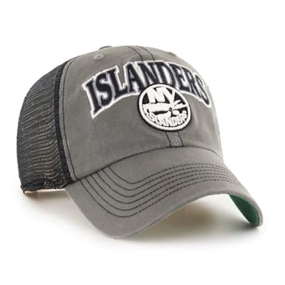 (47 Brand New York Islanders Charcoal Tuscaloosa Cap - Adult)