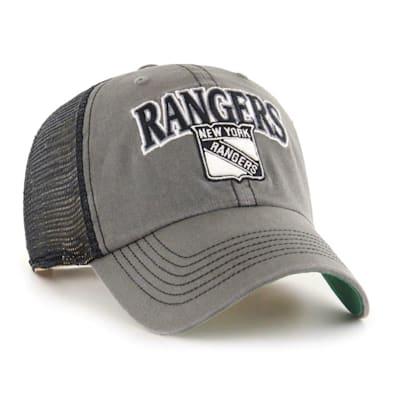 (47 Brand New York Rangers Charcoal Tuscaloosa Cap - Adult)