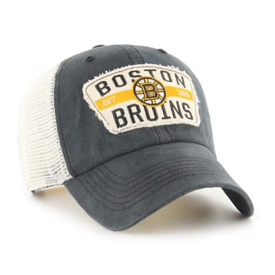 (47 Brand Crawford Clean Up Adjustable Cap - Boston Bruins - Adult)