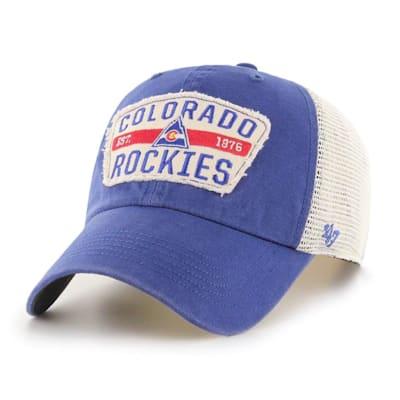 (47 Brand Crawford Clean Up Adjustable Cap - Colorado Rockies - Adult)