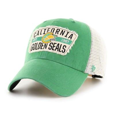 (47 Brand Crawford Clean Up Adjustable Cap - California Golden Seals - Adult)