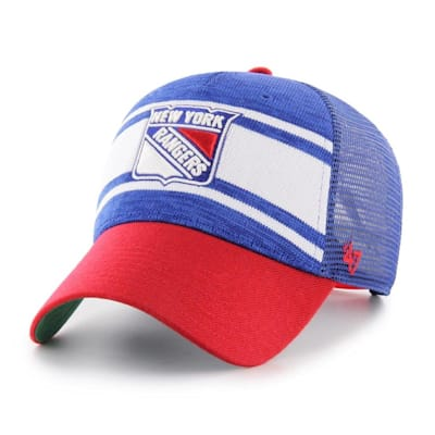 (47 Brand Power Play MVP Adjustable Cap - New York Rangers - Adult)
