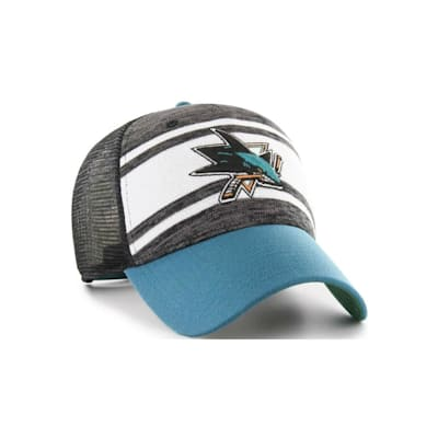 (47 Brand Power Play MVP Cap - San Jose Sharks - Adult)