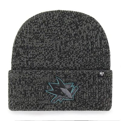 (47 Brand Brain Freeze Cuff Knit Hat San Jose Sharks - Adult)