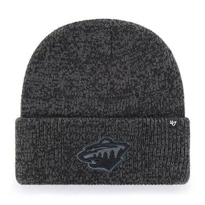 (47 Brand Brain Freeze Cuff Knit Hat Minnesota Wild - Adult)