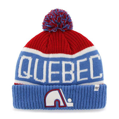 (47 Brand Calgary Pom Knit Hat Quebec Nordiques - Adult)