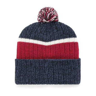 (47 Brand Holcomb Pom Knit Hat - Colorado Avalanche - Adult)