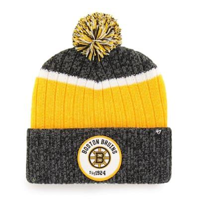 (47 Brand Holcomb Pom Knit Hat - Boston Bruins - Adult)