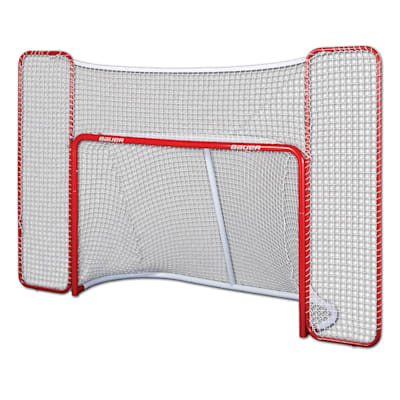 "(Bauer 72"" Performance Hockey Goal w/ Backstop)"