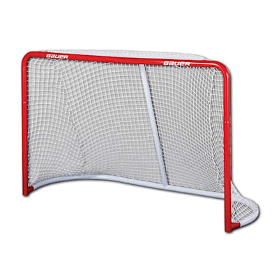 "(Bauer 72"" Performance Steel Goal)"