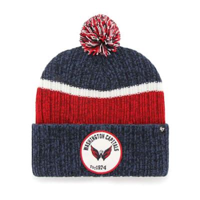 (47 Brand Holcomb Pom Knit Hat - Washington Capitals - Adult)