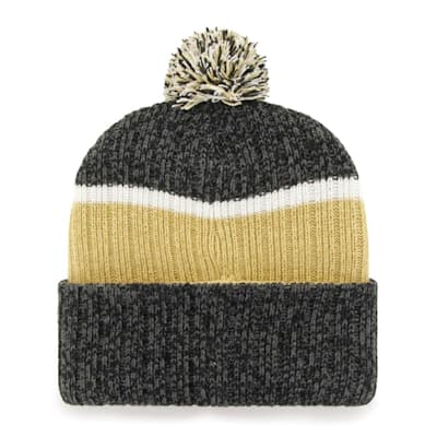 (47 Brand Holcomb Pom Knit Hat - Vegas Golden Knights - Adult)
