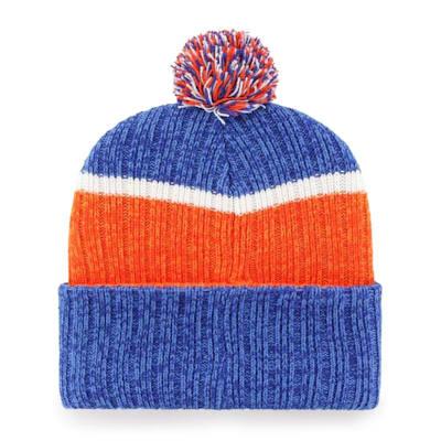 (47 Brand Holcomb Pom Knit Hat - New York Islanders - Adult)