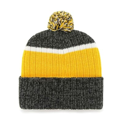 (47 Brand Holcomb Pom Knit Hat - Pittsburgh Penguins - Adult)