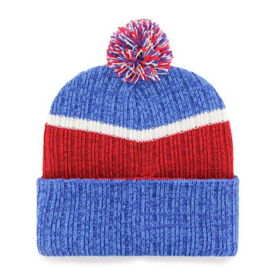 (47 Brand Holcomb Pom Knit Hat - New York Rangers - Adult)