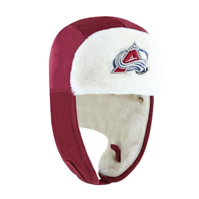 (47 Brand Trapper Knit Hat - Colorado Avalanche - Adult)