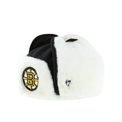 (47 Brand Trapper Knit Hat - Boston Bruins - Adult)