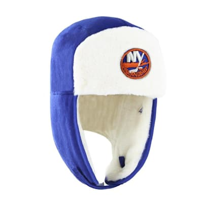 (47 Brand Trapper Knit Hat - NY Islanders - Adult)