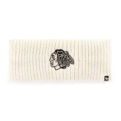 (47 Brand Womens Meeko Headband - Chicago Blackhawks - Adult)