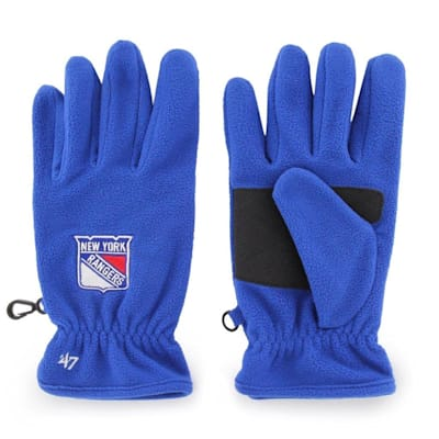 (47 Brand NY Rangers Fleece Gloves - Adult)