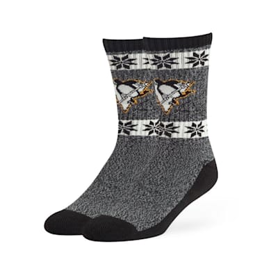 (47 Brand Norse Crew Sock - Pittsburgh Penguins - Adult)