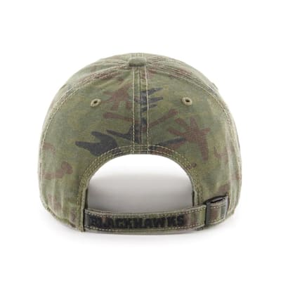 (47 Brand Movement Clean Up Camo Cap - Chicago Blackhawks - Adult)