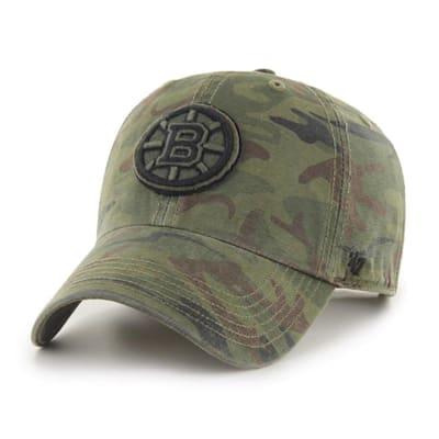 (47 Brand Movement Clean Up Camo Cap - Boston Bruins - Adult)