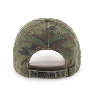 (47 Brand Movement Clean Up Camo Cap - Boston Bruins - Adult)