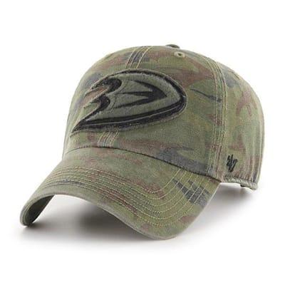 (47 Brand Movement Clean Up Camo Cap - Anaheim Ducks - Adult)