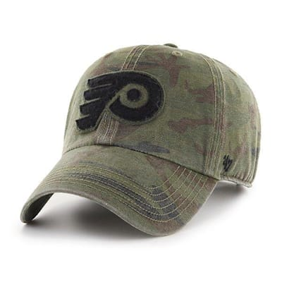 (47 Brand Movement Clean Up Camo Cap - Philadelphia Flyers - Adult)