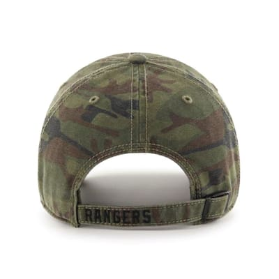 (47 Brand Movement Clean Up Camo Cap - NY Rangers - Adult)