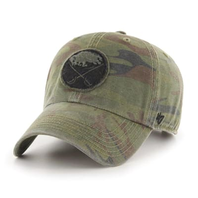 (47 Brand Movement Clean Up Camo Cap - Buffalo Sabres - Adult)