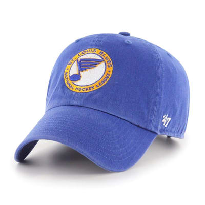 (47 Brand Throwback Clean Up Cap St. Louis Blues - Adult)