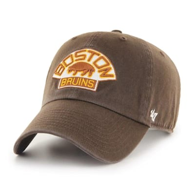(47 Brand Throwback Clean Up Cap Boston Bruins - Adult)