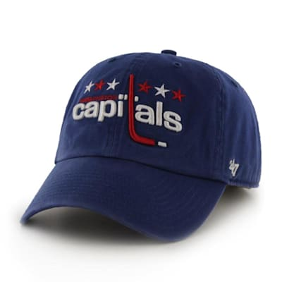 (47 Brand Throwback Clean Up Cap Washington Capitals - Adult)