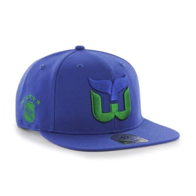(47 Brand Hartford Whalers Sure Shot Captain Snapback Cap - Adult)