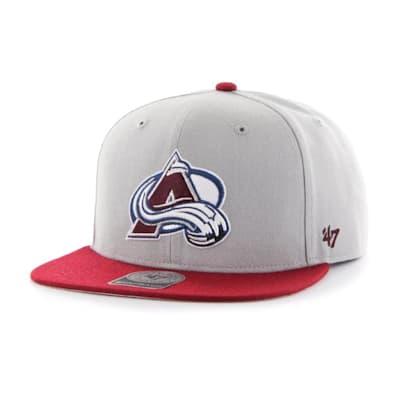 (47 Brand Colorado Avalanche Sure Shot Two Tone Snapback Cap - Adult)