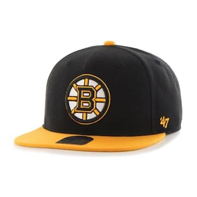 (47 Brand Boston Bruins Sure Shot Two Tone Snapback Cap - Adult)