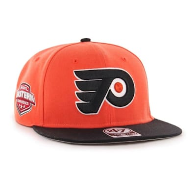 (47 Brand Philadelphia Flyers Sure Shot Two Tone Snapback Cap - Adult)