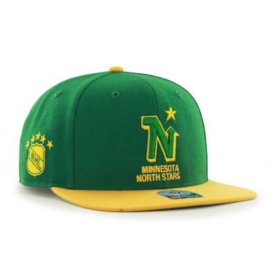 (47 Brand Minnesota North Stars Sure Shot Two Tone Snapback Cap - Adult)