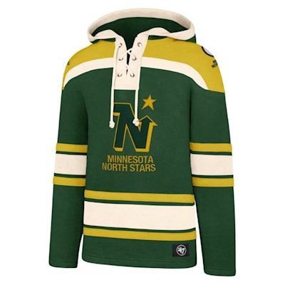 (47 Brand Lacer Pullover Hoodie - Minnesota North Stars - Adult)
