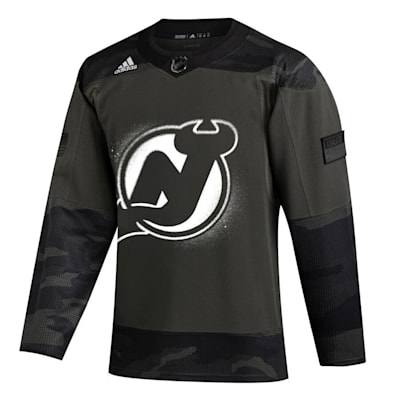 (Adidas New Jersey Devils Military Appreciation Jersey - Adult)